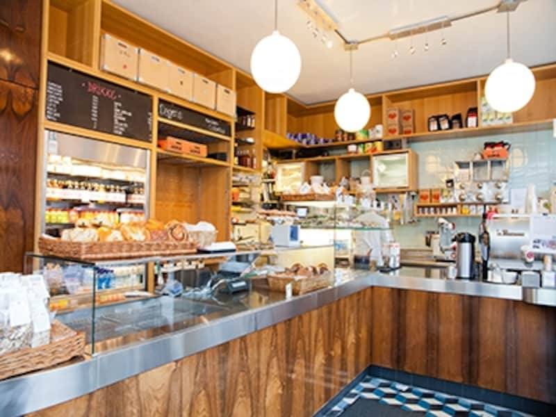 ノルウェーのサンドイッチカフェ