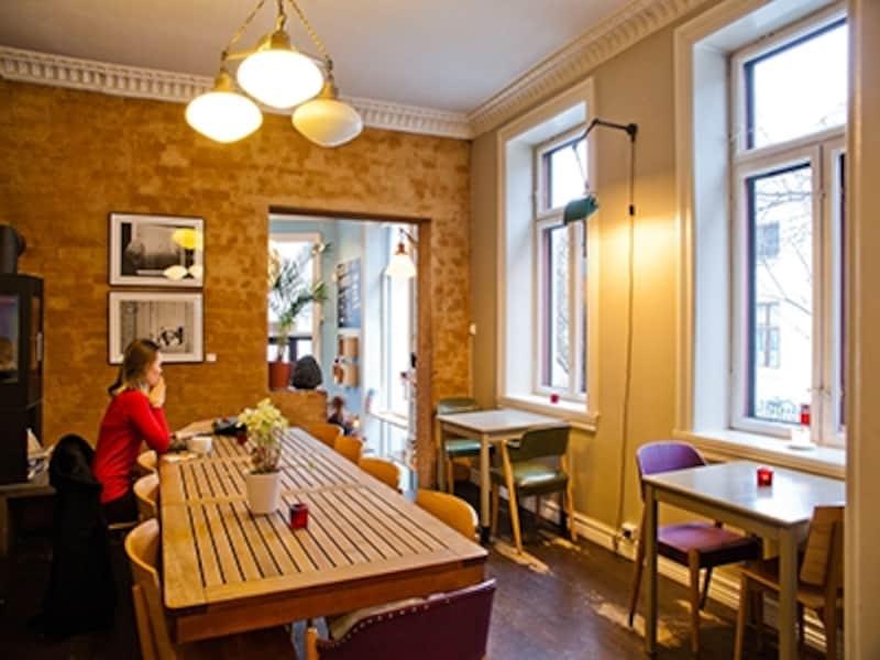 北欧インテリアとカフェ