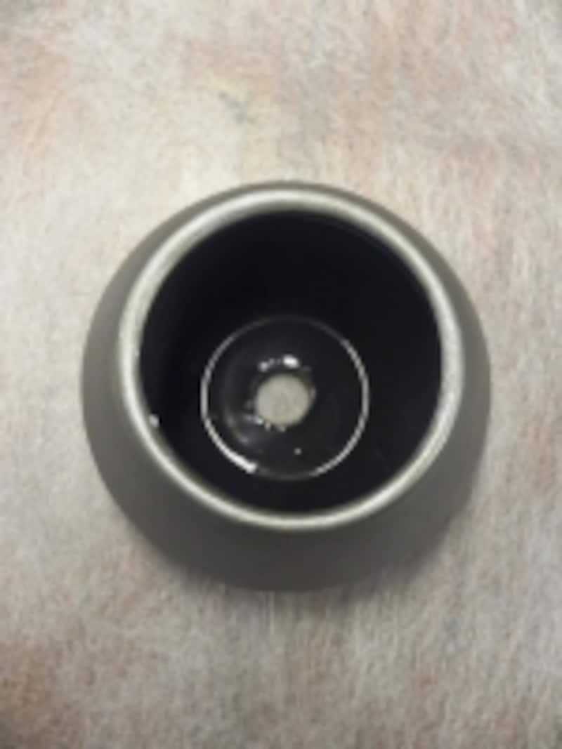 底面の釉薬
