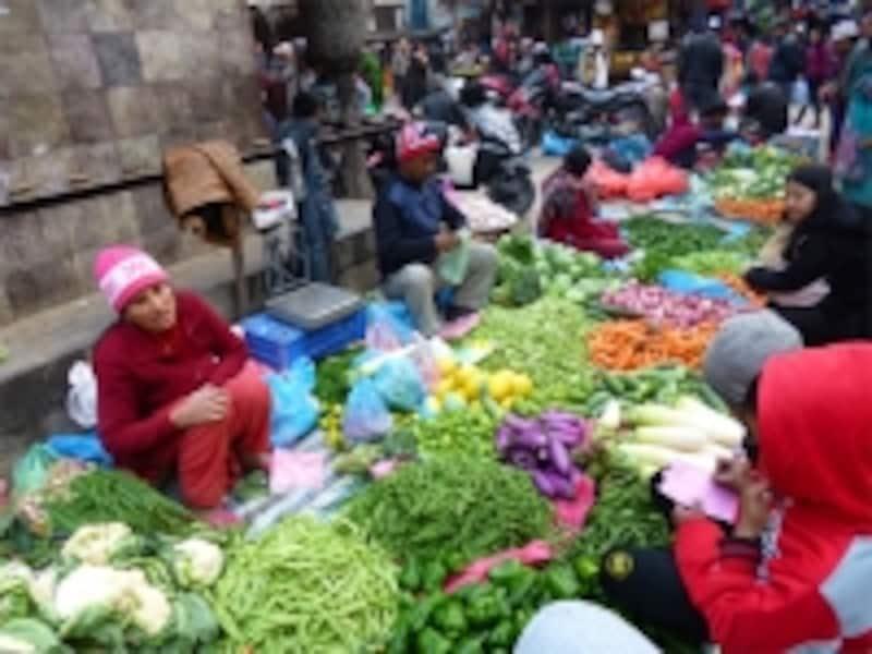 アサンの野菜市場