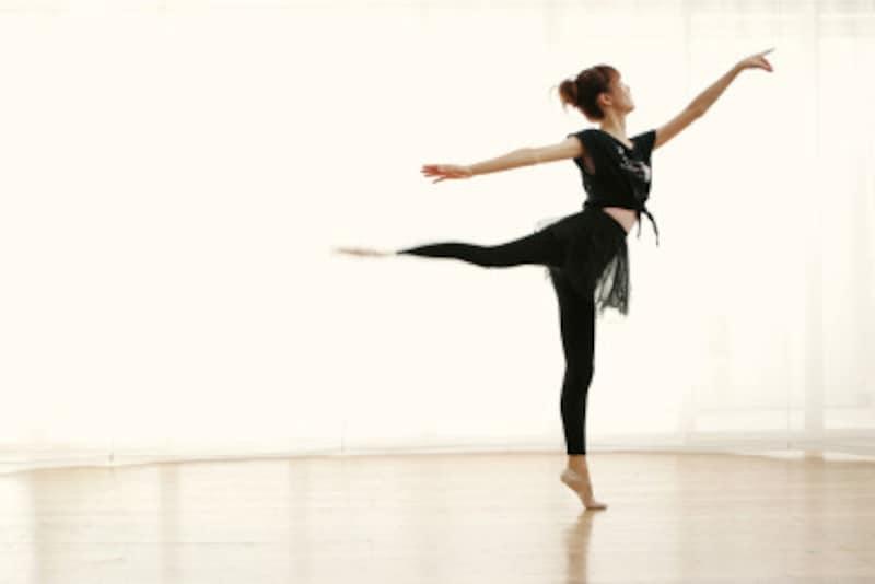 バレエのジャンプの種類