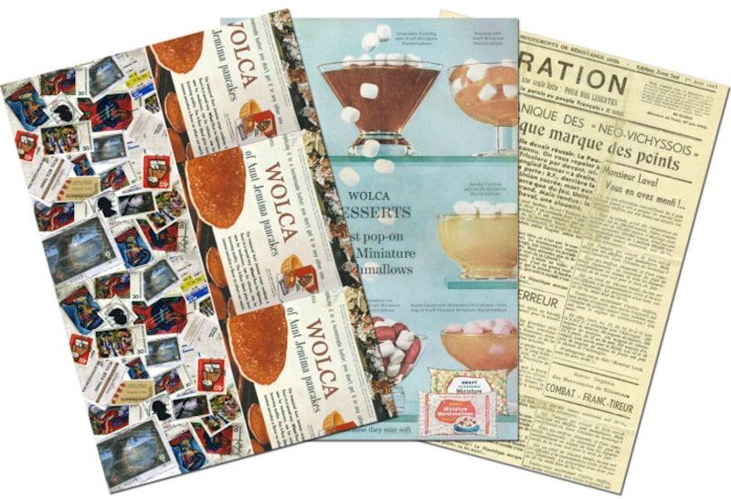 ブックカバー無料印刷ダウンロードWOLCA無料素材