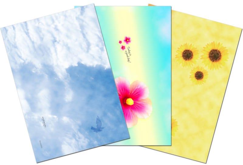 ブックカバー無料印刷ダウンロードnichiMAG