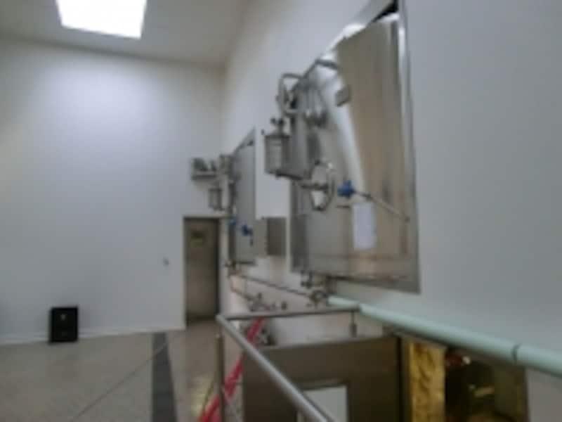デュポン醸造所の発酵タンク