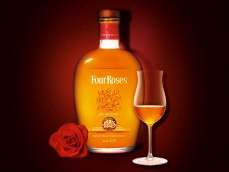 フォアローゼズスモールバッチリミテッドエディション2013125周年記念ボトル