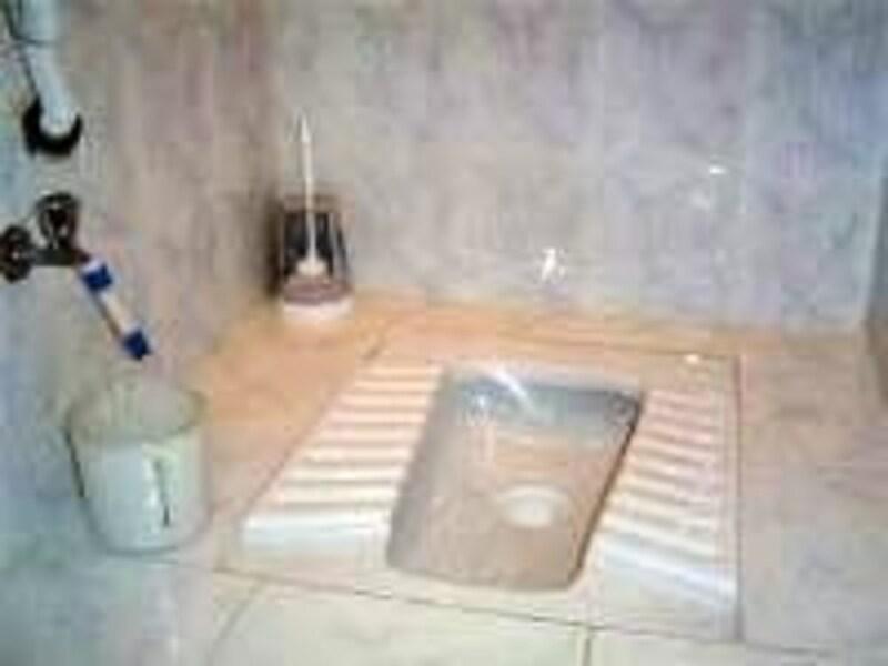 トルコ式トイレ