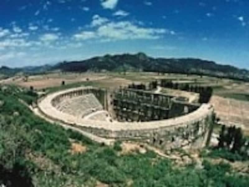 アスペンドス遺跡の劇場