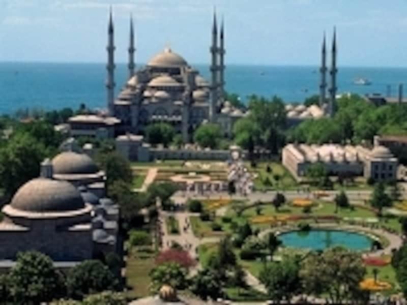 ブルーモスクとその周辺(イスタンブール)