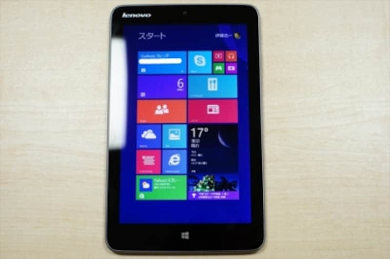 Windows8タブレット(lenovoMiix28)