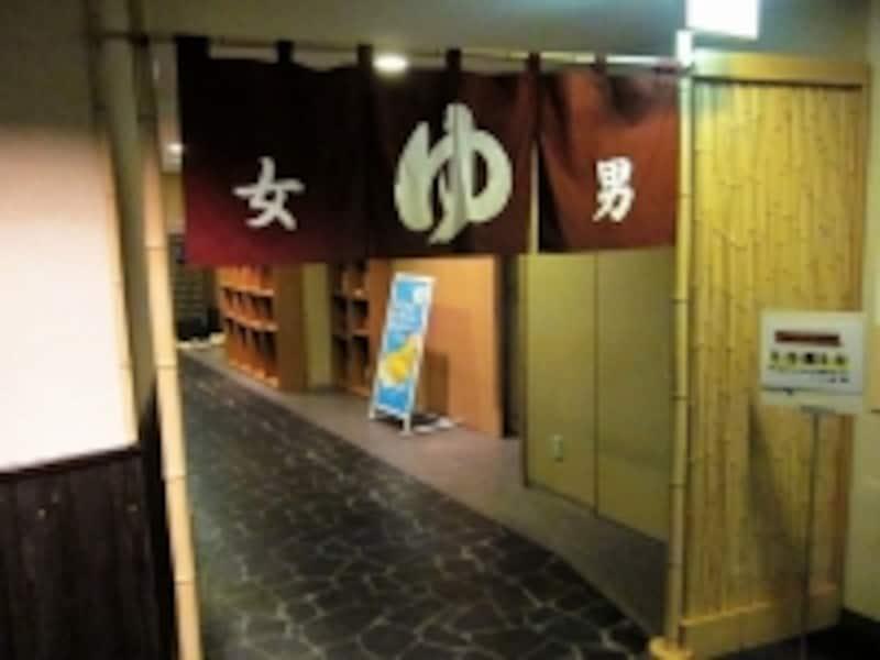ドーミーインの大浴場入口