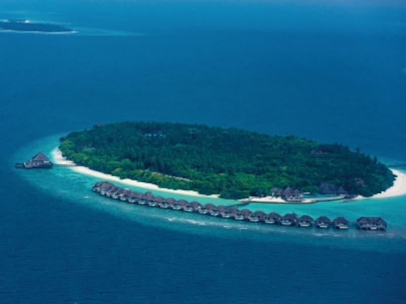 モルディブでは全てのホテルが「1島1リゾート」