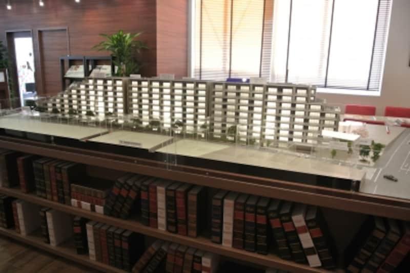 プラウドシティ仙川の模型