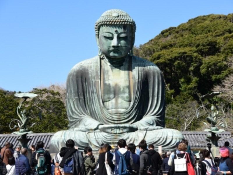 2016年1月13日~3月18日まで、約2ヶ月にわたる大がかりな調査・清掃作業を終え、きれいになった鎌倉大仏