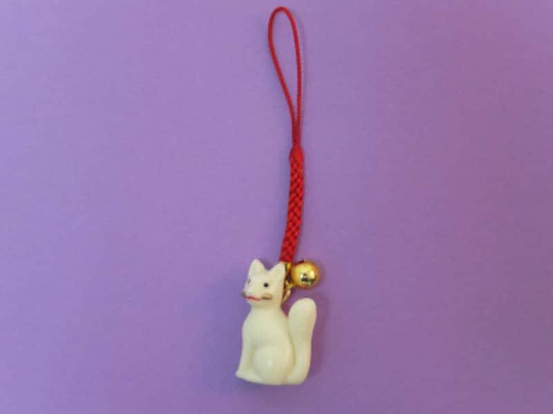佐助稲荷神社の「狐根付」のお守り