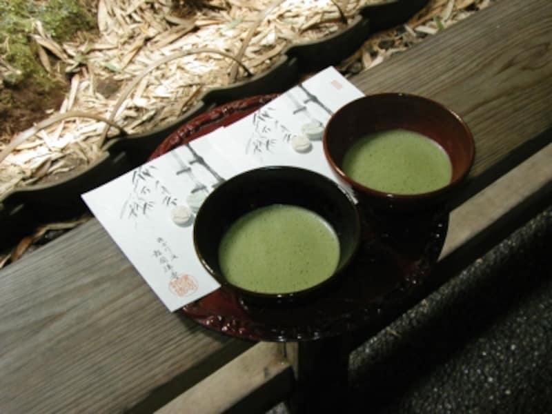 休耕庵の抹茶