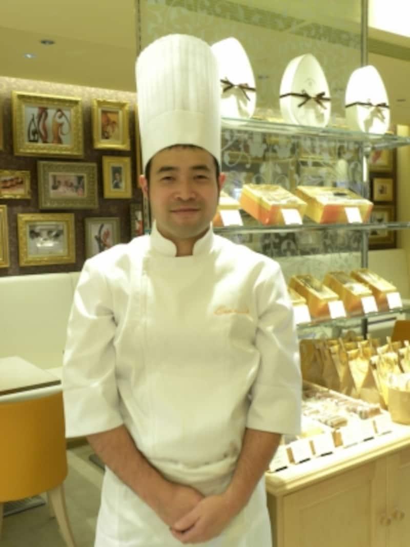 「オクシタニアル東京本店」工房シェフの中山和大氏