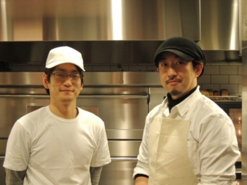 有形泰輔さん、杉窪章匡さん