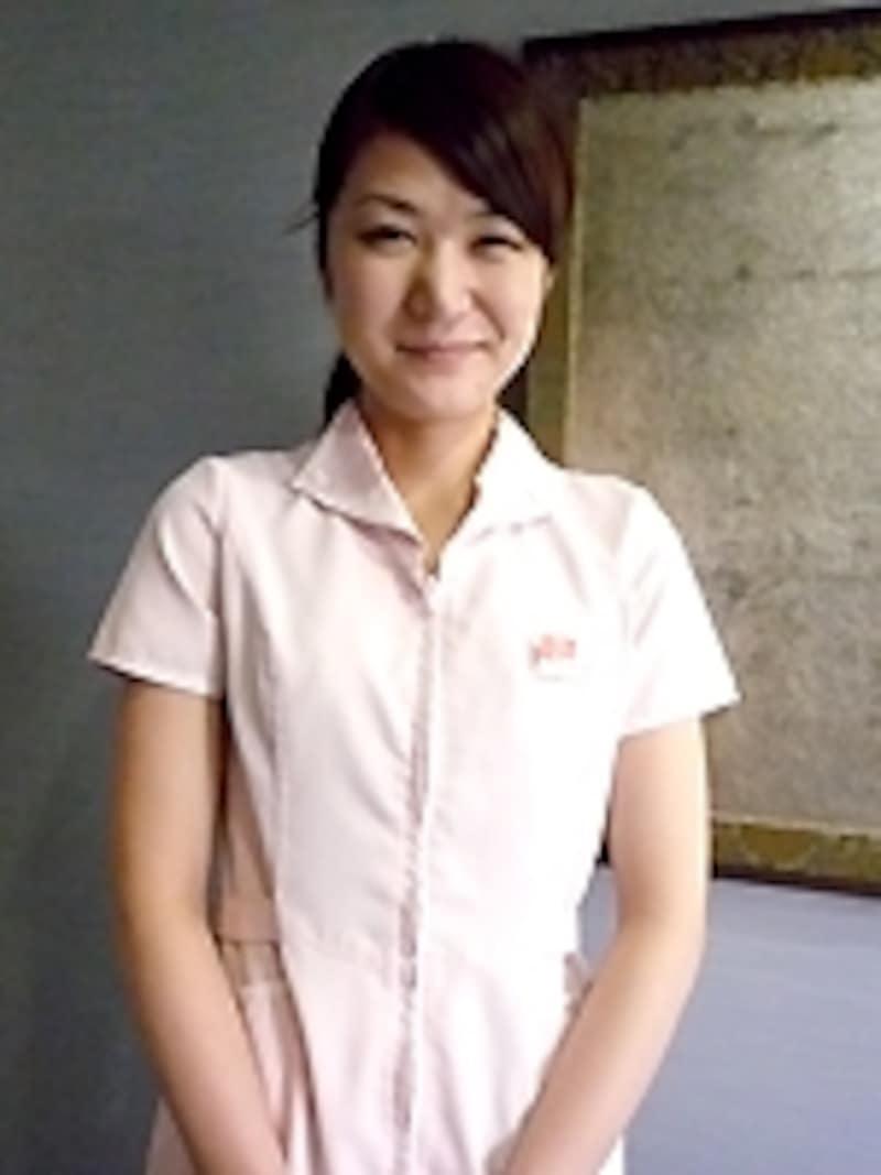 施術担当の看護師・若林さん。上手いです!