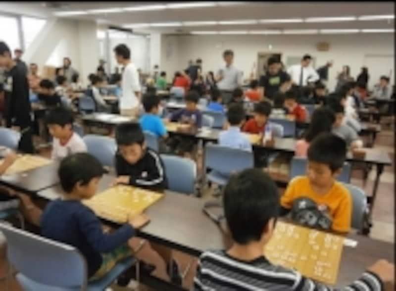現在も続く大分合同豆棋士将棋大会