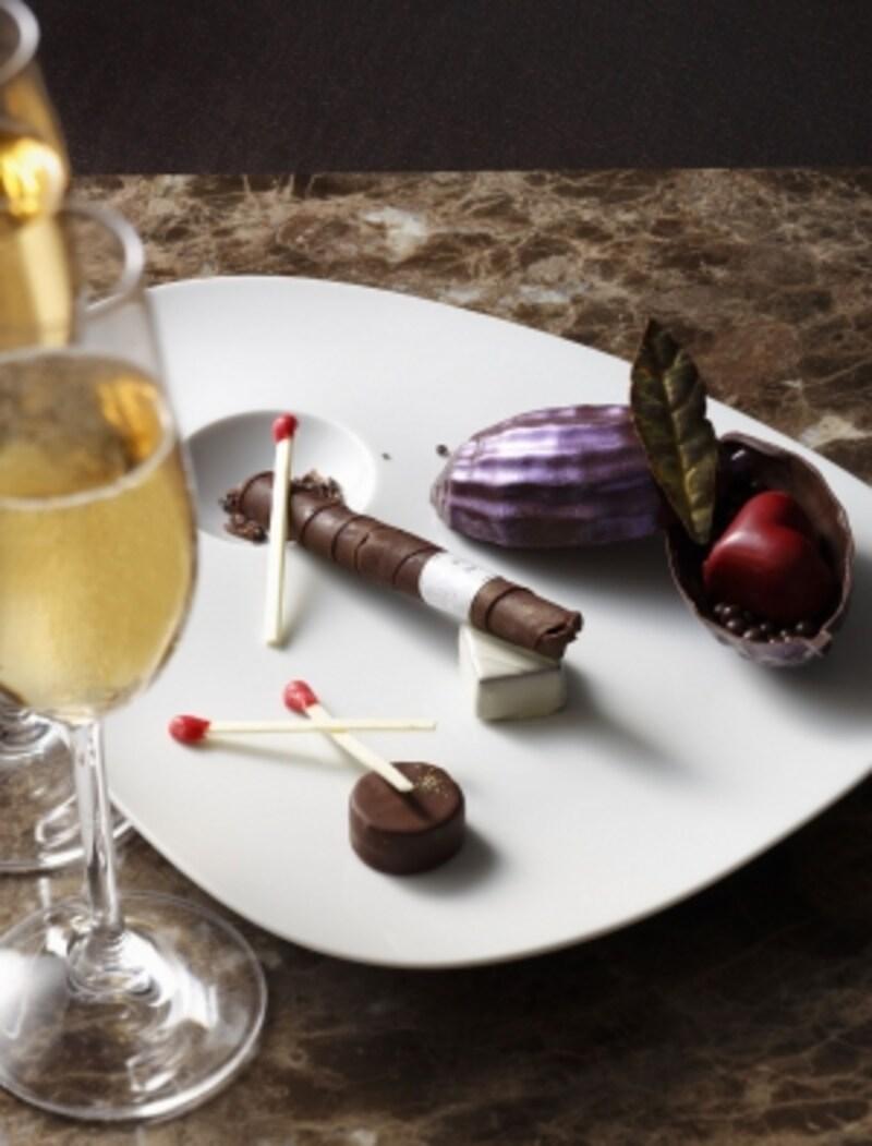 「バレンタインカクテルショコラ」&2グラスシャンパンundefined7,200円