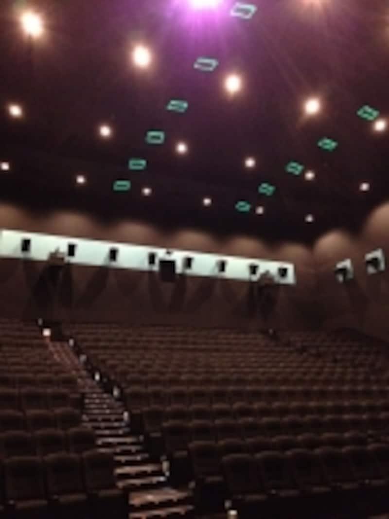 ドルビーアトモス採用の映画館例