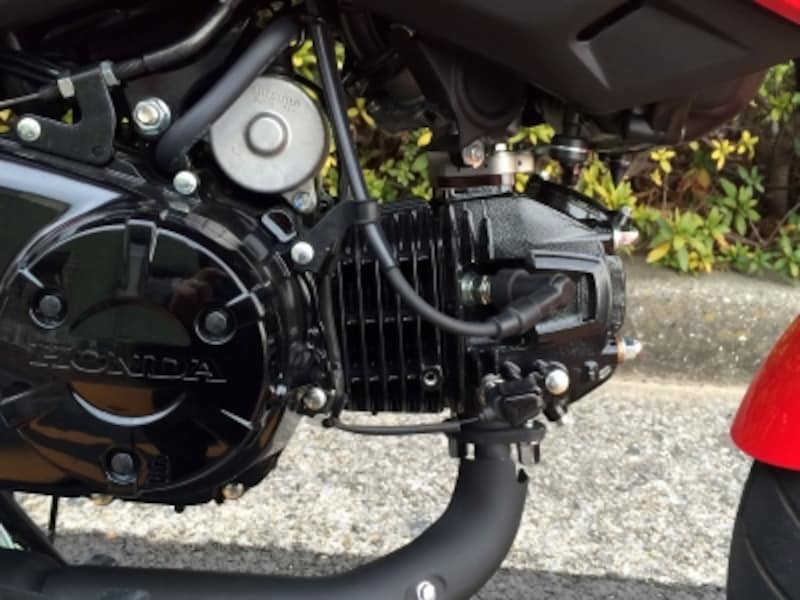 グロムのエンジン