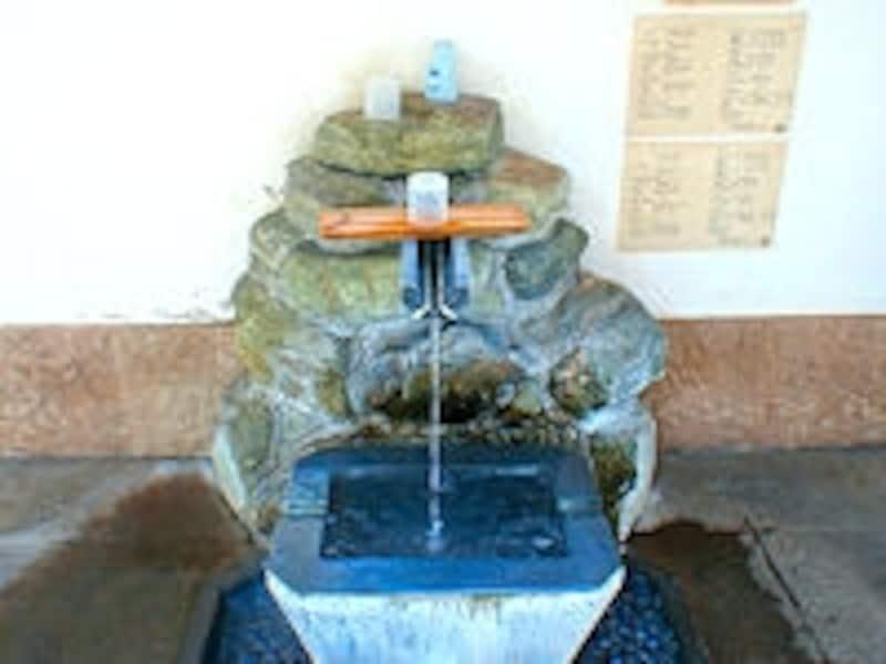 伊豆長岡温泉「姫の足湯」飲泉所