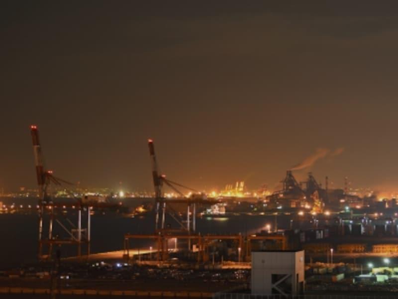 川崎マリエンから見た夜景