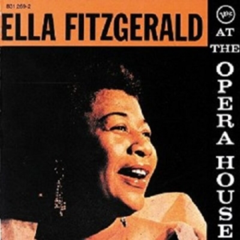 Ella Fitzgerald At The Opera House