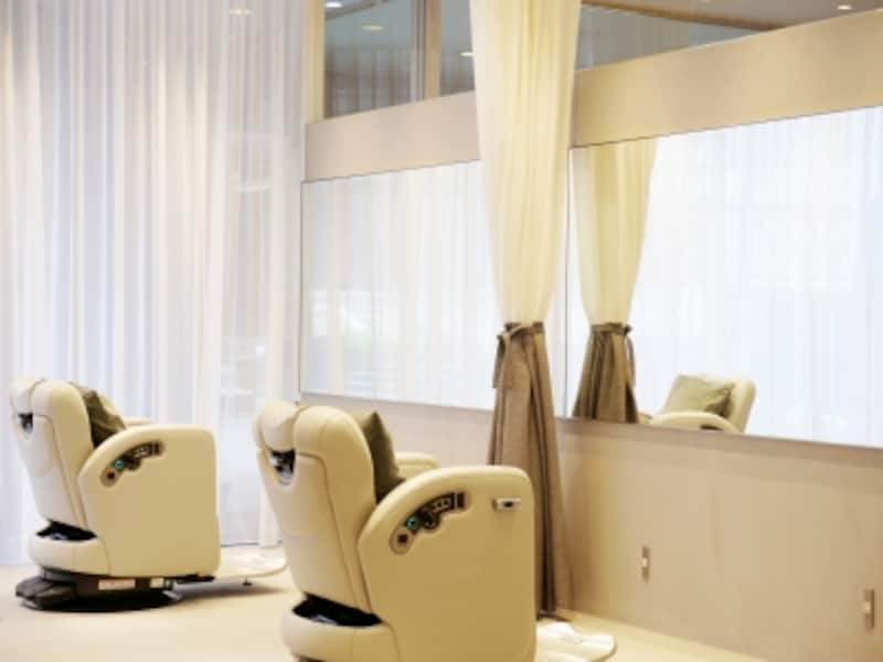 オーガニックヘアカラーのメニューがあるuka(ウカ)恵比寿三越店