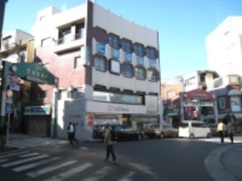 日吉の商店街