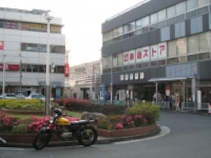 祐天寺駅前
