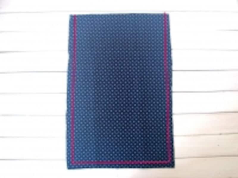 外袋を縫う