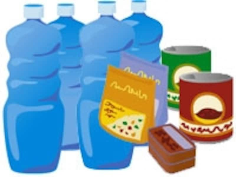 水や食料を3日~7日分となれば、ある程度の収納スペースが必要。