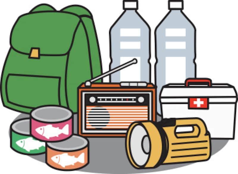 水や食料を3日~7日分となれば、ある程度の収納スペースが必要