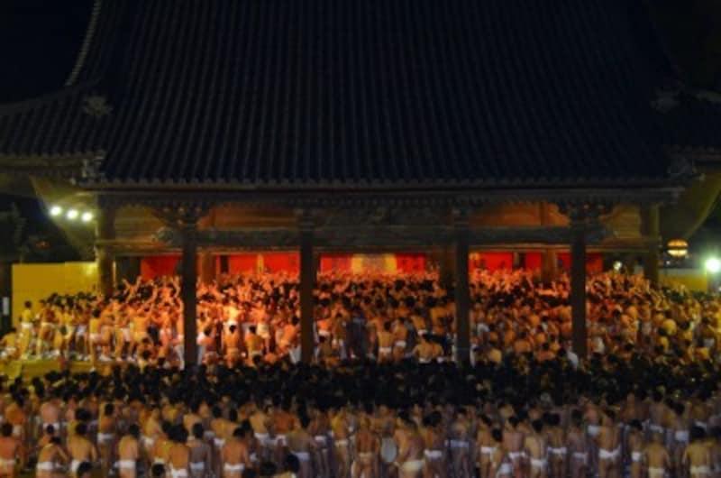西大寺会陽 宝木争奪戦