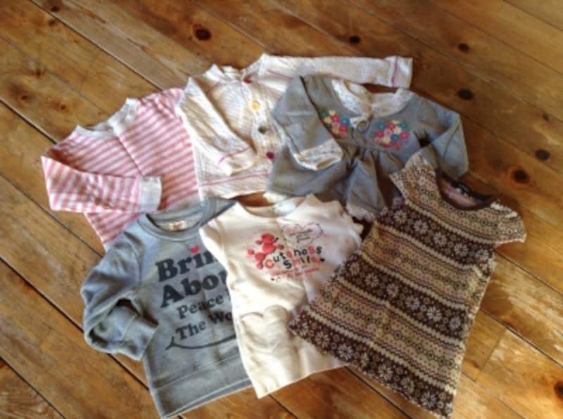サイズアウトした子供服。けっこう出品する人も多いのでは?