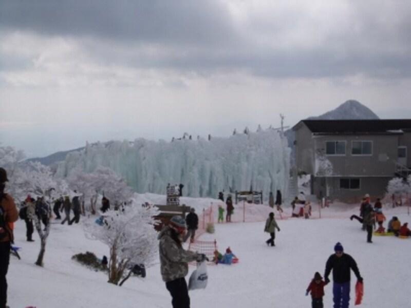 御在所岳の氷瀑(2)