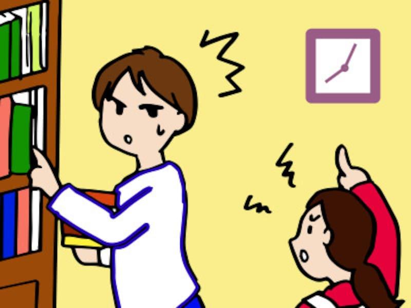 成績が上がらない子は勉強をなかなか始めずに部屋の片づけをしてみたり、プリント類を整理し始めたりします。