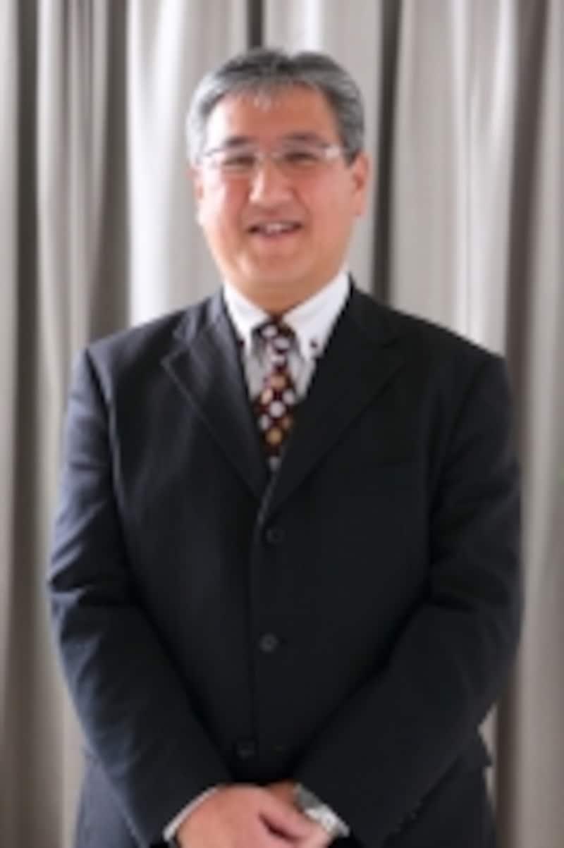 照明のプランを立ててくれた日本照明工業会会員企業の野菅繁樹さん
