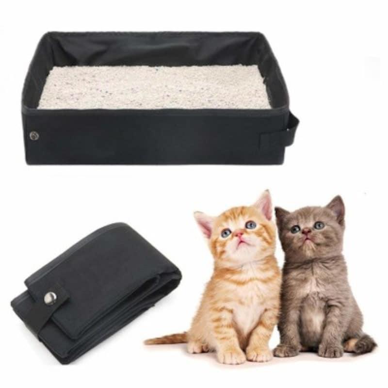おでかけ用猫のトイレ/Gifty避難用猫トイレ(出典:Amazon)