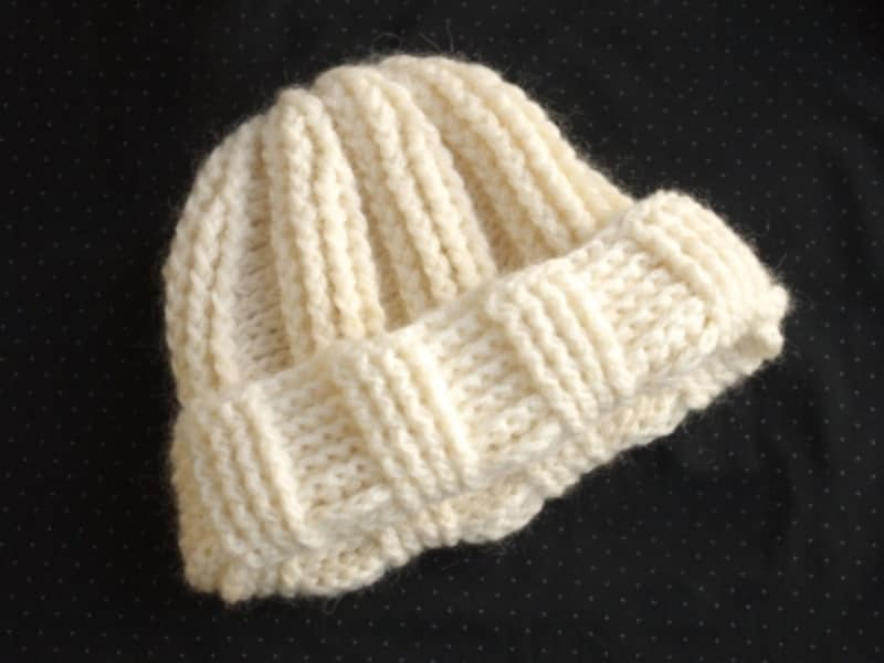 かぎ針編みのエアリーキャップ!初心者でも1日で完成の作り方