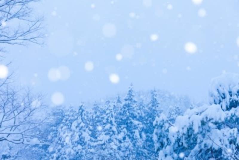 雪を英語で表現する!snow以外で表す単語は何種類ある?