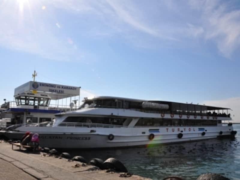 KadikoyのTuryol船着き場、Cayirbasi側