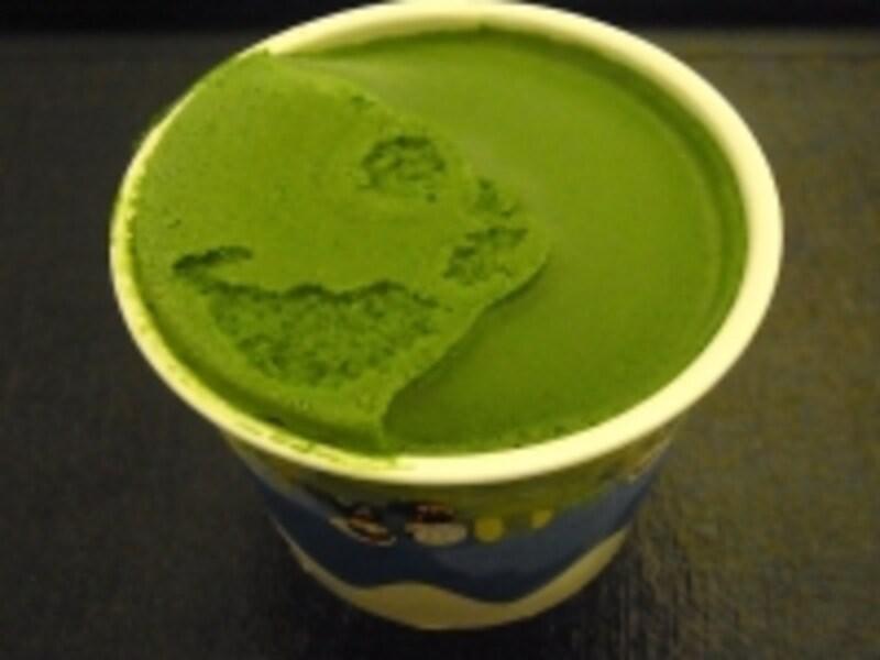 抹茶のジェラート350円