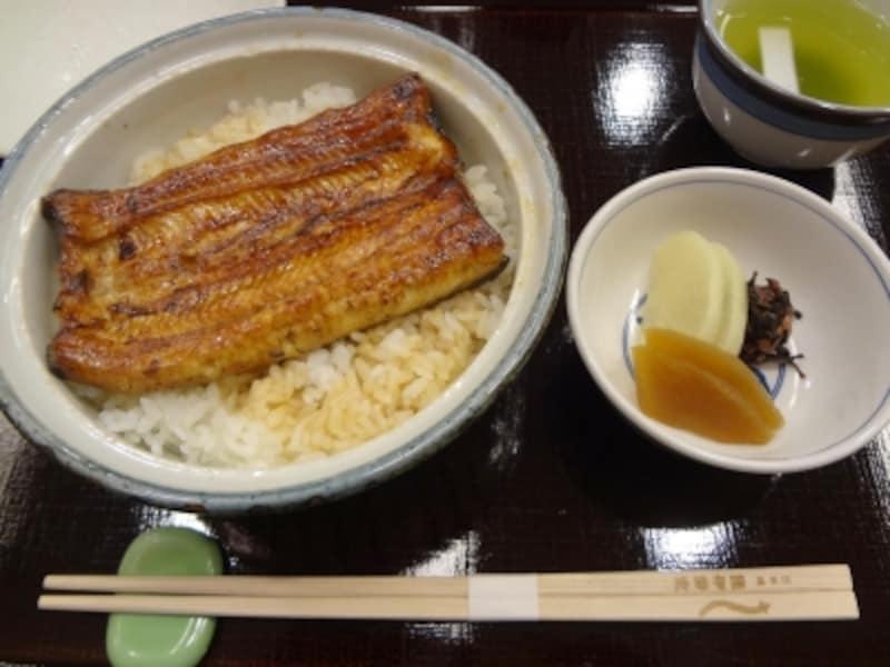 うな丼柳2940円