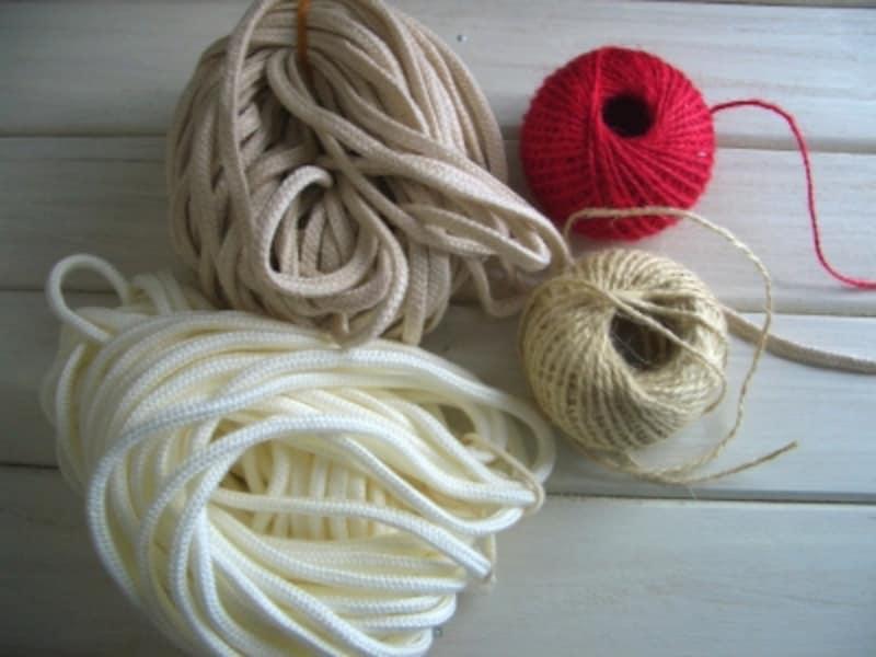 手芸用紐の種類