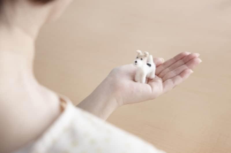愛犬のメモリアルグッズ