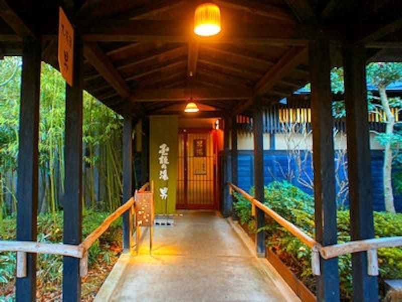 箱根強羅温泉季の湯雪月花の浴室棟