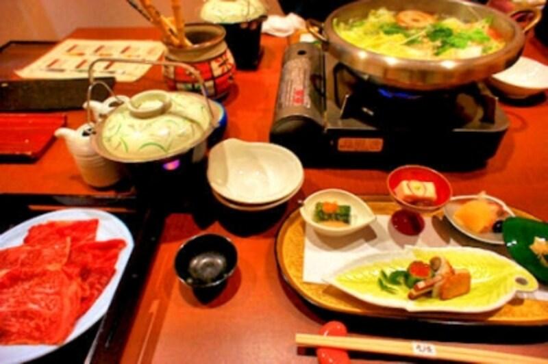 箱根強羅温泉季の湯雪月花の夕食